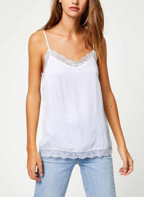 Vêtements Vila Vicava Lace Singlet Blanc vue droite