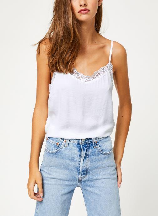 Vêtements Vila Vicava Lace Singlet Blanc vue détail/paire