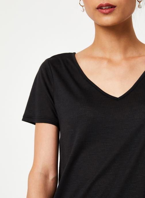 Vêtements Vila Vinoel T-Shirt Noir vue face