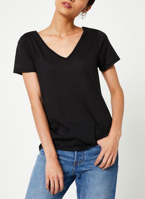 Vêtements Vila Vinoel T-Shirt Noir vue détail/paire