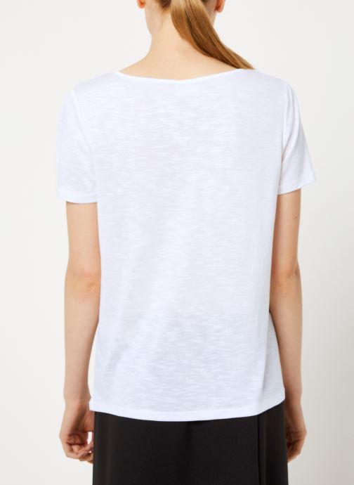 Kleding Vila Vinoel T-Shirt Wit model