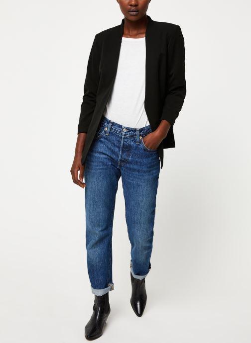 Vêtements Vila Viher Blazer Noir vue bas / vue portée sac
