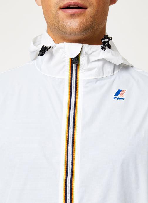 Vêtements K-Way  LE VRAI 3.0 CLAUDE M Blanc vue face