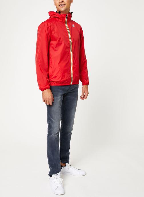 Vêtements K-Way  LE VRAI 3.0 CLAUDE M Rouge vue bas / vue portée sac