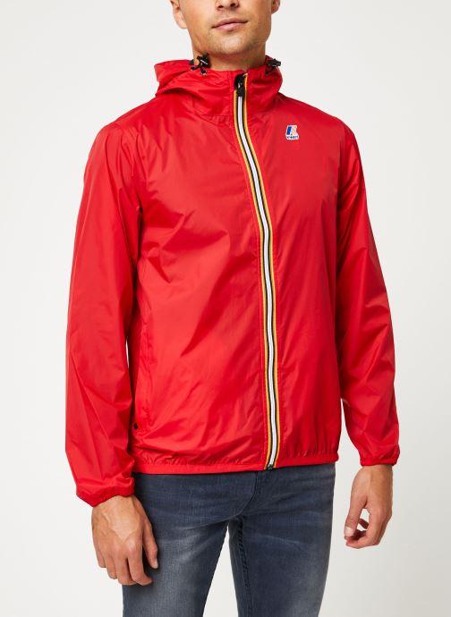 Vêtements K-Way  LE VRAI 3.0 CLAUDE M Rouge vue droite