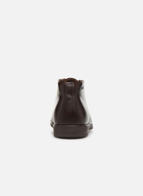 Chaussures à lacets Birkenstock FLEN Marron vue droite