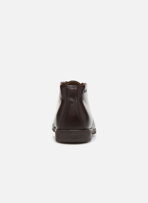 Lace-up shoes Birkenstock FLEN Brown view from the right