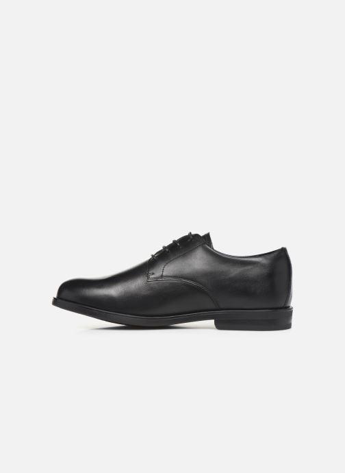 Lace-up shoes Birkenstock JAREN Black front view