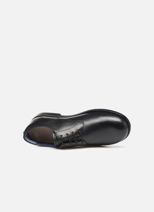 Lace-up shoes Birkenstock JAREN Black view from the left