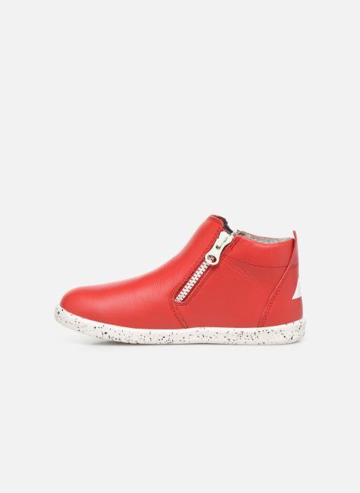 Bottines et boots Bobux Tasman Rouge vue face