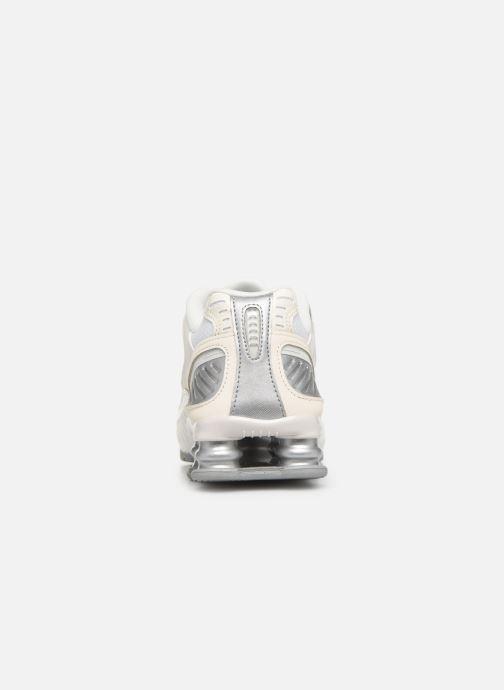 Deportivas Nike W Nike Shox Enigma Blanco vista lateral derecha