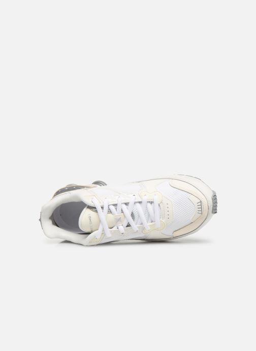 Baskets Nike W Nike Shox Enigma Blanc vue gauche