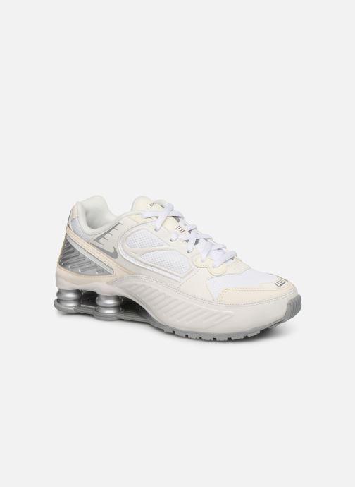 Baskets Nike W Nike Shox Enigma Blanc vue détail/paire