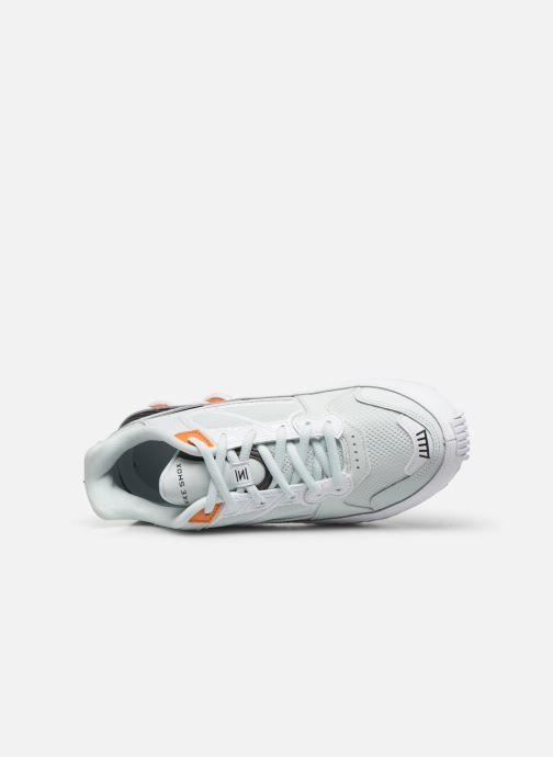 Deportivas Nike W Nike Shox Enigma Negro vista lateral izquierda