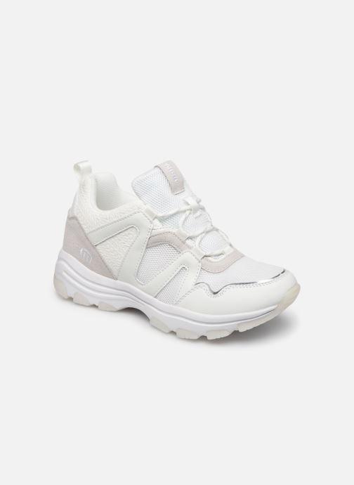 Baskets MTNG Yoda Blanc vue détail/paire