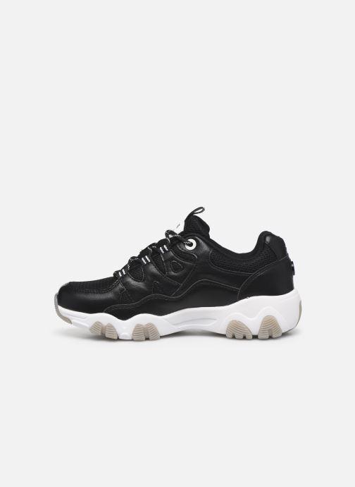 Sneaker MTNG Mesh yt 0849 schwarz ansicht von vorne