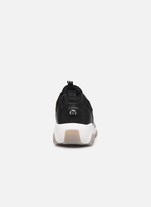 Sneaker MTNG Mesh yt 0849 schwarz ansicht von rechts