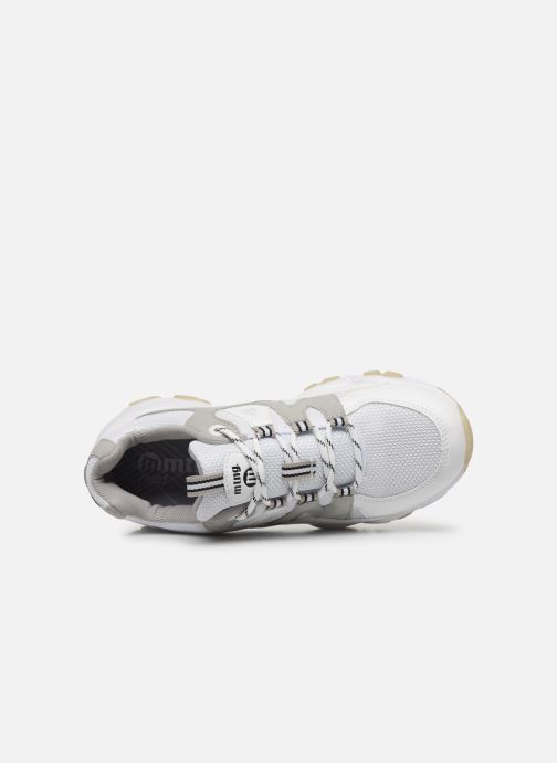 Sneakers MTNG Mesh yt 0849 Bianco immagine sinistra