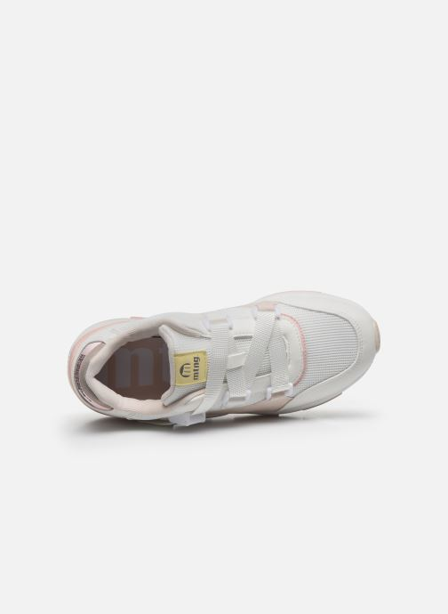 Sneakers MTNG Mesh yt 0692 Bianco immagine sinistra