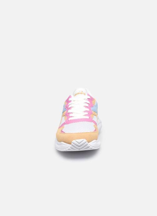 Baskets Diadora Camaro 2D Wn Multicolore vue portées chaussures