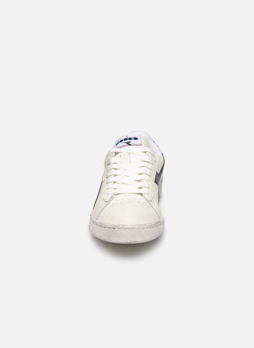 Sneaker Diadora Game L Low Waxed Wn weiß schuhe getragen
