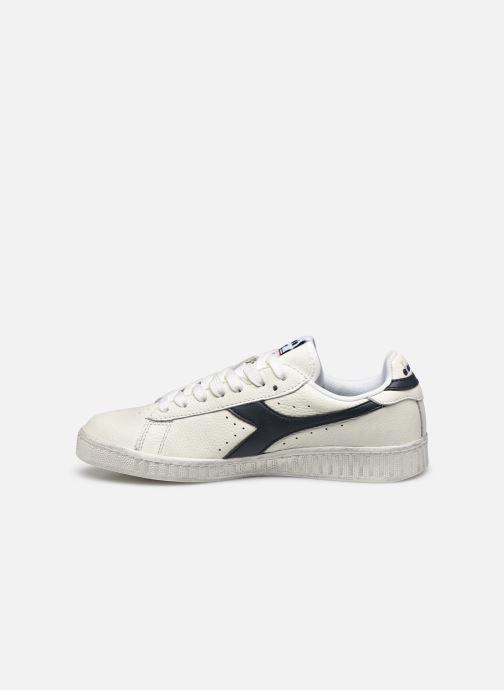 Sneaker Diadora Game L Low Waxed Wn weiß ansicht von vorne