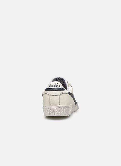 Sneaker Diadora Game L Low Waxed Wn weiß ansicht von rechts