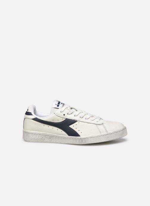 Sneaker Diadora Game L Low Waxed Wn weiß ansicht von hinten