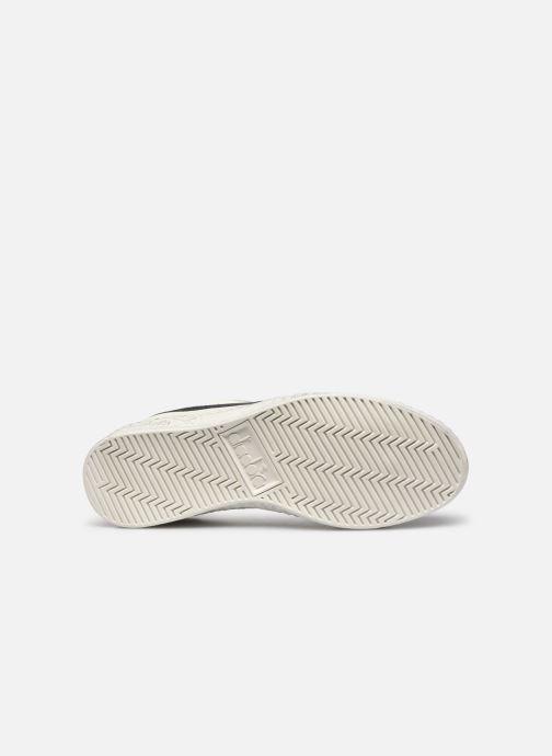 Sneaker Diadora Game L Low Waxed Wn weiß ansicht von oben