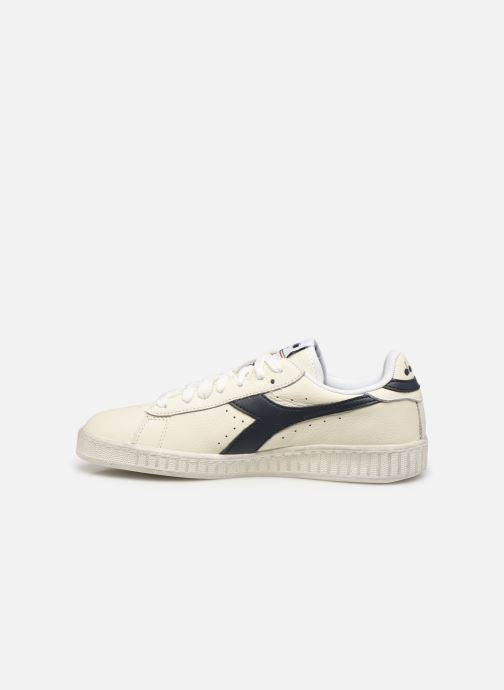 Sneakers Diadora Game L Low Waxed Wn Wit voorkant