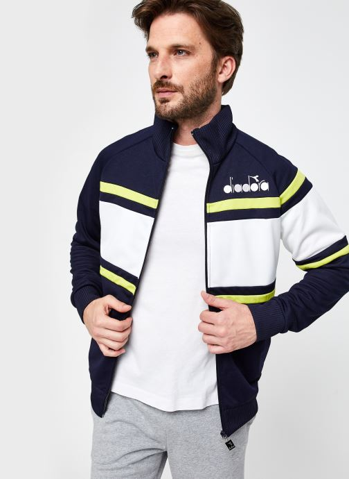 Kleding Diadora Jacket 80S Blauw detail
