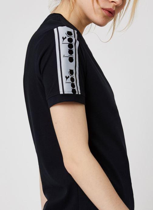 Diadora T-shirt - L. T-Shirt Trofeo (Noir) - Vêtements chez Sarenza (408749) kAE3i