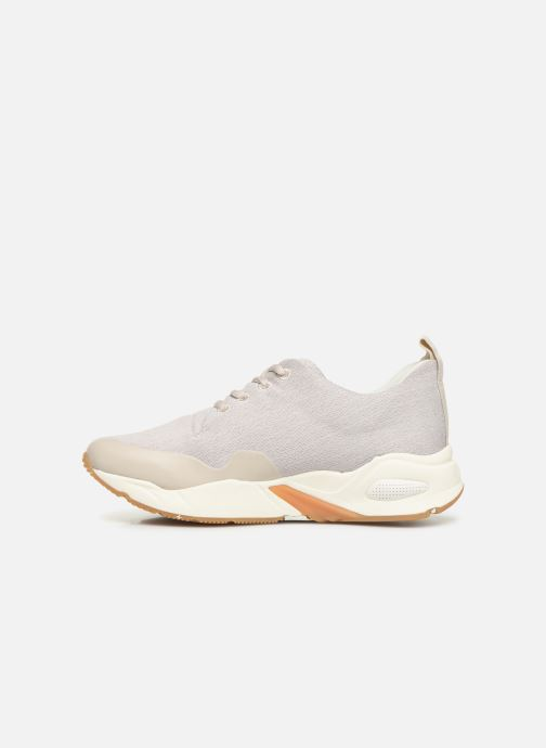 Trainers Timberland Delphiville Textile Sneaker Beige front view