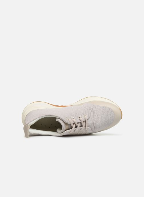 Trainers Timberland Delphiville Textile Sneaker Beige view from the left
