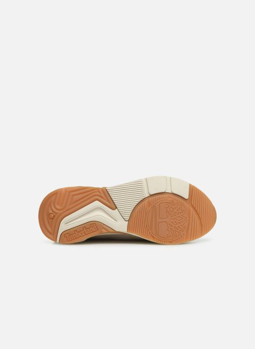 Trainers Timberland Delphiville Textile Sneaker Beige view from above