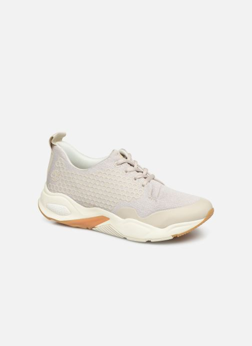 Trainers Timberland Delphiville Textile Sneaker Beige detailed view/ Pair view