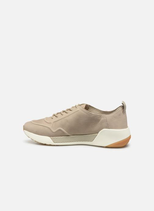 Trainers Timberland Kiri Up New Leather Ox Beige front view