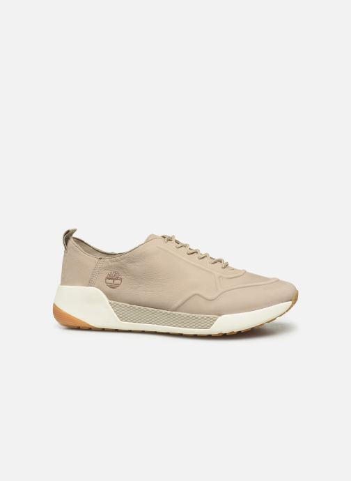 Sneakers Timberland Kiri Up New Leather Ox Beige achterkant