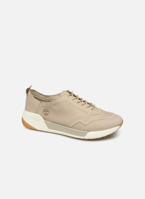 Trainers Timberland Kiri Up New Leather Ox Beige detailed view/ Pair view
