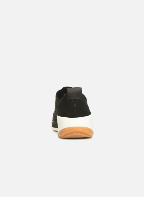 Trainers Timberland Kiri Up New Leather Ox Black view from the right