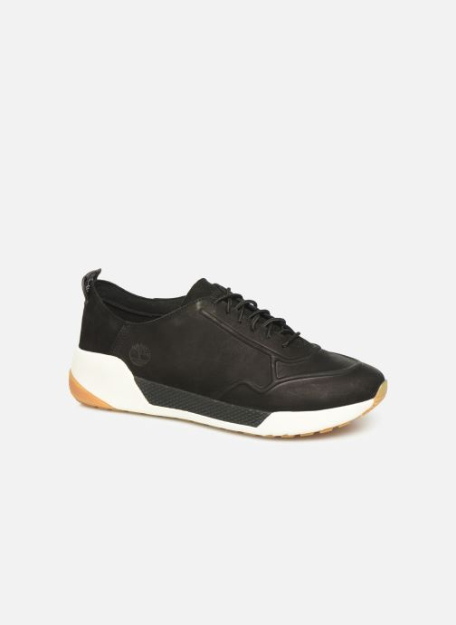 Trainers Timberland Kiri Up New Leather Ox Black detailed view/ Pair view