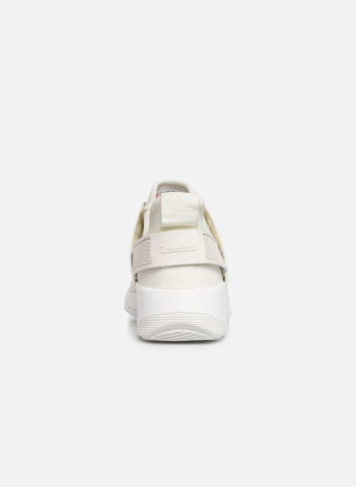 Trainers Timberland Kiri Up KPU Net Oxford White view from the right