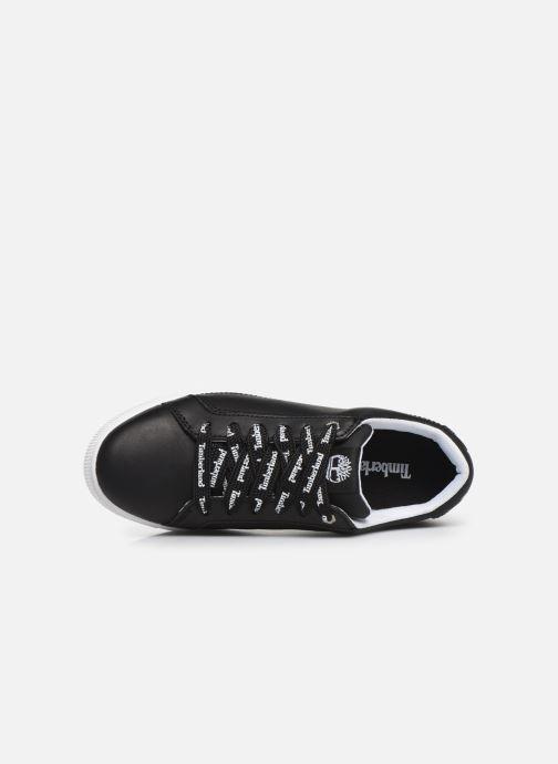 Baskets Timberland Marblesea Leather Sneaker Noir vue gauche