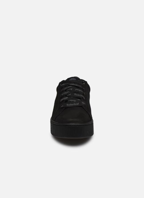 Sneakers Timberland Marblesea Leather Sneaker Nero modello indossato