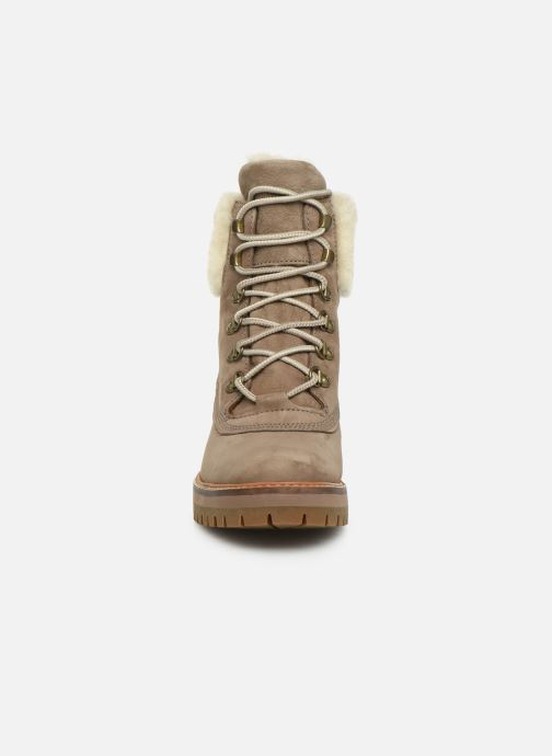 Bottines et boots Timberland Courmayeur Valley 6in wShearling Gris vue portées chaussures