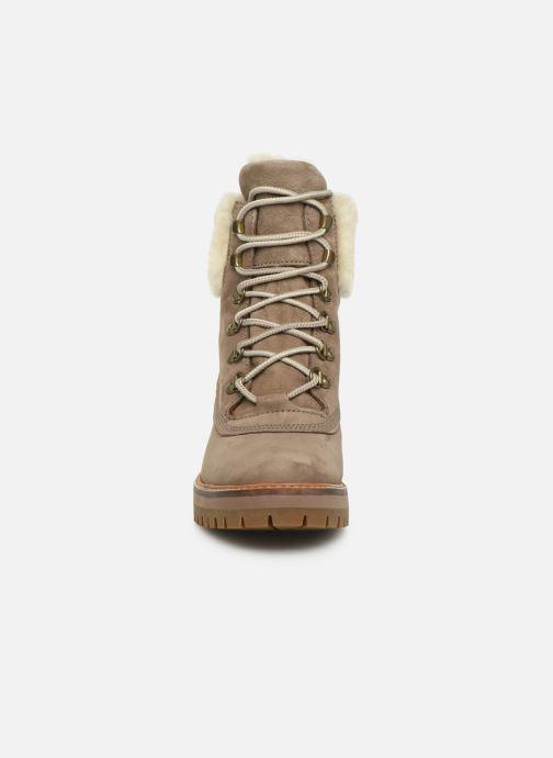 Boots en enkellaarsjes Timberland Courmayeur Valley 6in wShearling Grijs model
