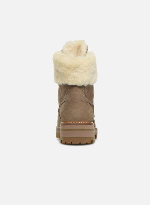 Boots en enkellaarsjes Timberland Courmayeur Valley 6in wShearling Grijs rechts