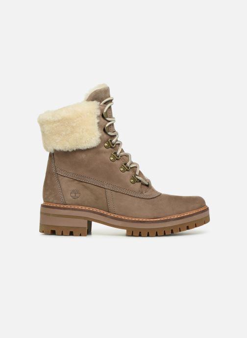 Boots en enkellaarsjes Timberland Courmayeur Valley 6in wShearling Grijs achterkant