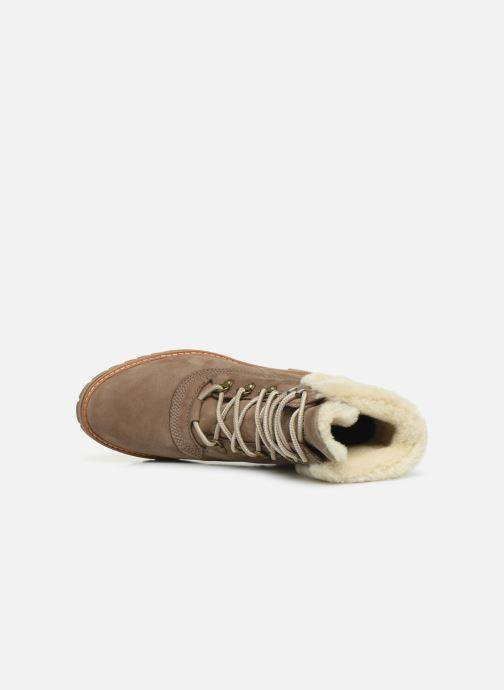 Boots en enkellaarsjes Timberland Courmayeur Valley 6in wShearling Grijs links