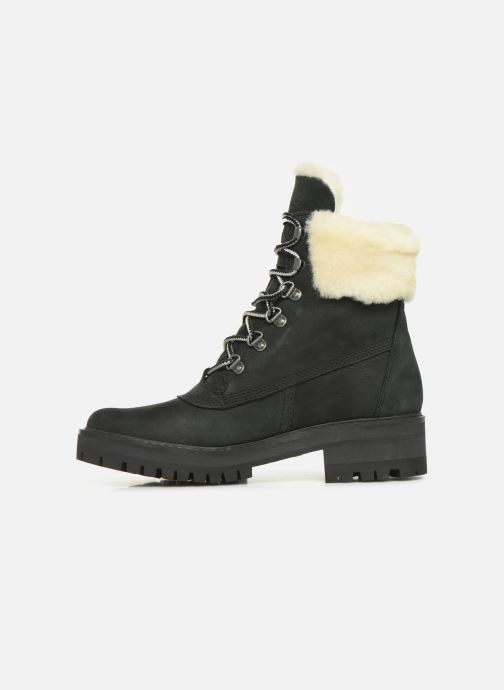 Bottines et boots Timberland Courmayeur Valley 6in wShearling Noir vue face